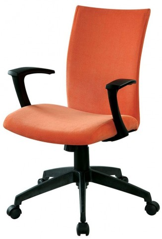 Crofter Orange Office Chair
