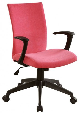 Crofter Red Office Chair