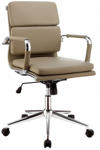 Mercedes Mocha Small Office Chair