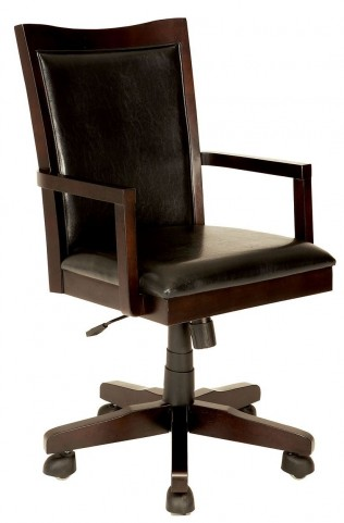 Rhoda Dark Walnut Office Chair