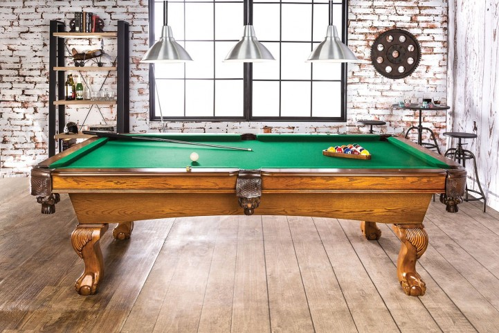 Gondomar Antique Oak Pool Table Set