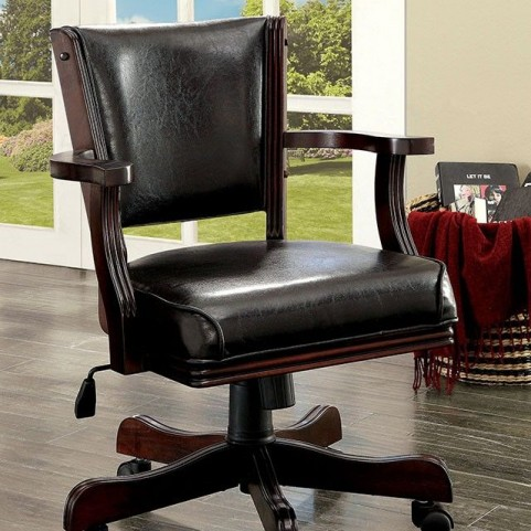 Rowan Cherry Height Adjustable Arm Chair