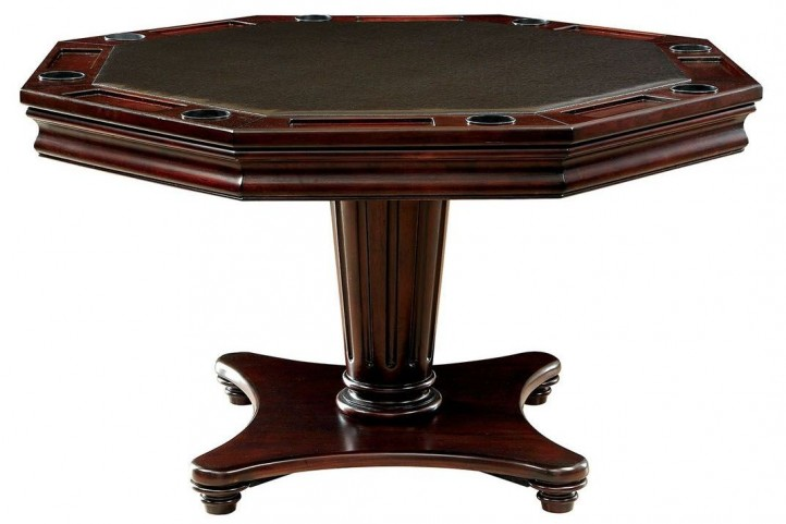 Raelle Dark Cherry Game Table
