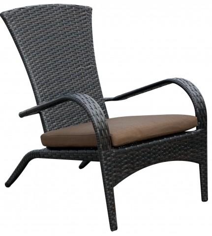 Faro Brown Fabric Arm Chair Set of 6