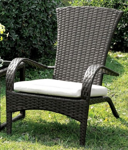 Faro Ivory Fabric Arm Chair Set of 6