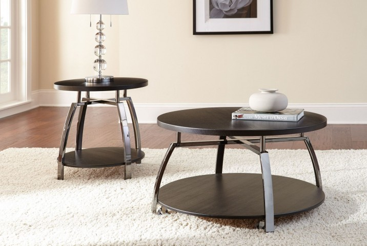 Coham Silvershield 3D Laminate Occasional Table Set
