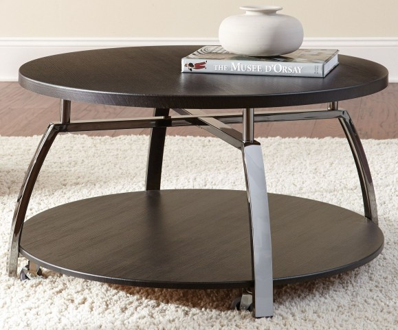 Coham Silvershield 3D Laminate Cocktail Table