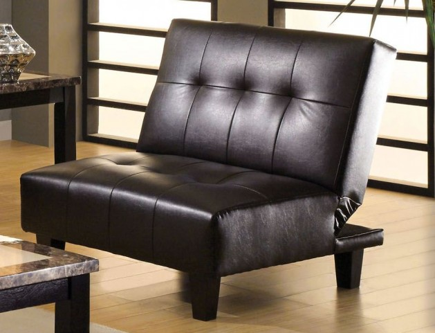 Belmont Espresso Leatherette Chair