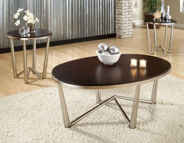 Cosmo 3 Piece Occasional Table Set