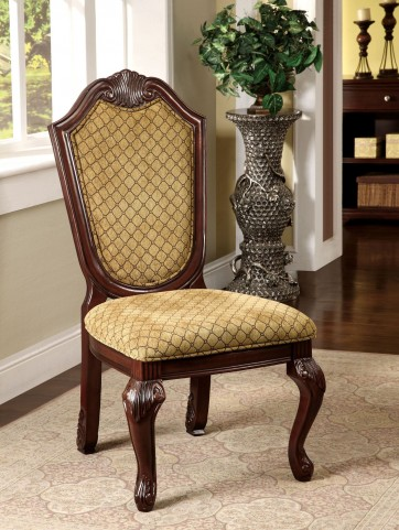 Napa Valley Dark Cherry Side Chair Set of 2