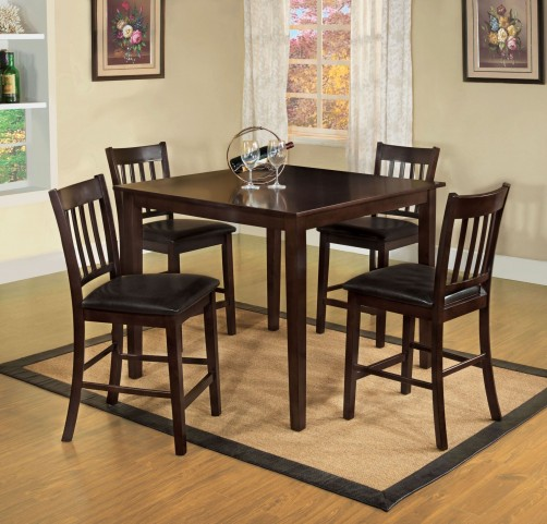 Northvale II 5 Piece Counter Height Table Set
