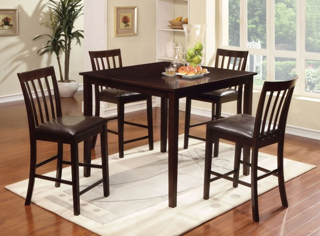 Wrangler II 5 Piece Counter Height Table Set