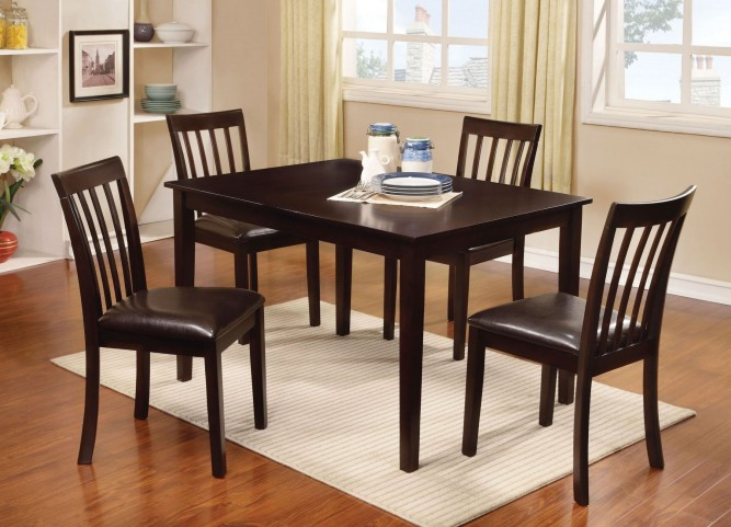 Wrangler I 5 Piece Dining Table Set