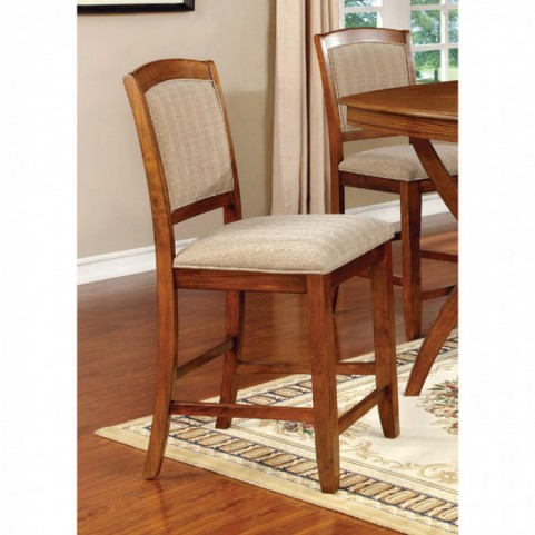 Redding II Oak Counter Height Chair