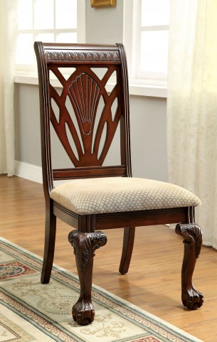 Petersburg I Cherry Side Chair Set of 2