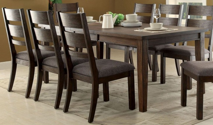 Isadora Espresso Extendable Rectangular Dining Table