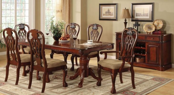 George Town Rectangular Double Pedestal Formal Dining Room Set