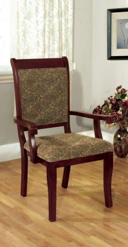 St. Nicholas I Antique Cherry Arm Chair Set of 2
