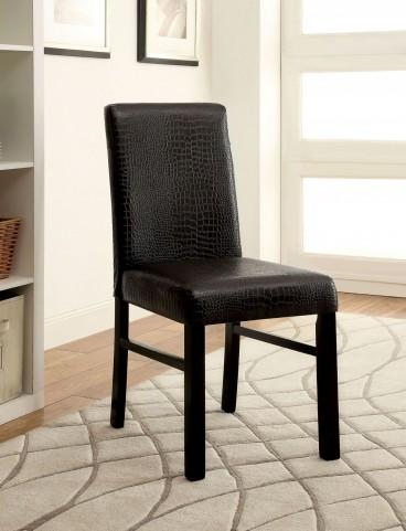 Rockham I Black Side Chair Set of 2