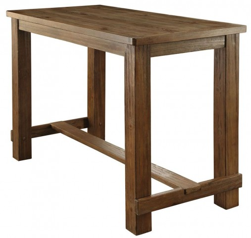 Sania Natural Tone Bar Table
