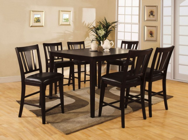 Bridgette II 7 Piece Counter Height Dining Room Set