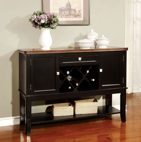 Dover Black and Cherry Server