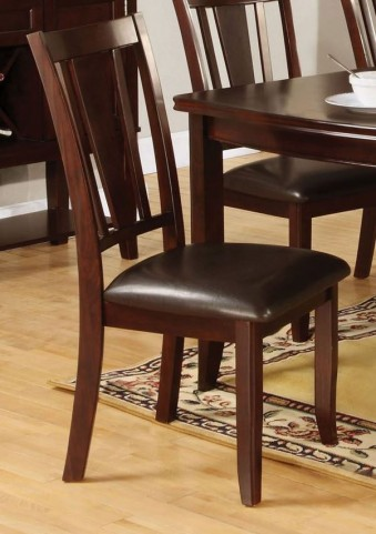 Edgewood I Espresso Side Chair Set of 2