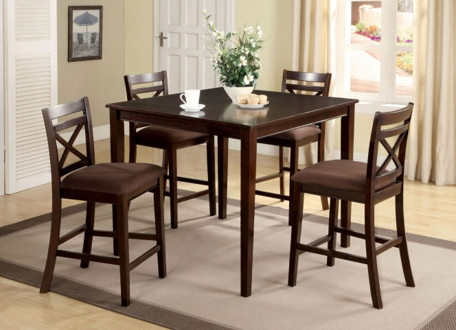 Weston I 5 Piece Counter Height Table Set