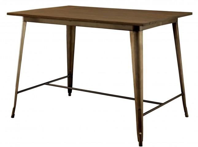 Cooper II Elm Wood Top Counter Height Table