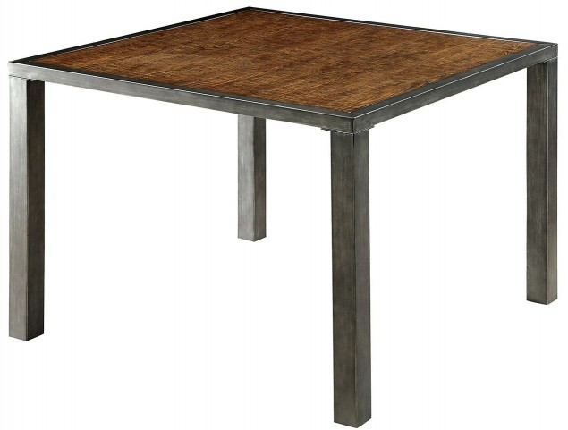Jazlyn II Weathered Oak Counter Height Table