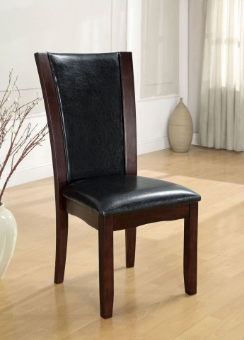 Manhattan I Espresso Side Chair Set of 2