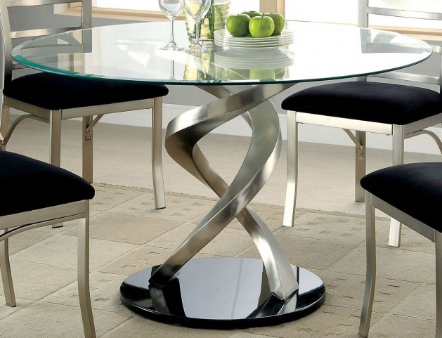 Roxo Round Pedestal Dining Table