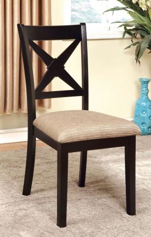 Liberta Fabric Side Chair Set of 2