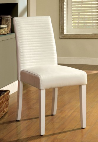 Levna White Side Chair Set of 2