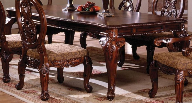 Tuscany II Antique Cherry Rectangular Leg Dining Table