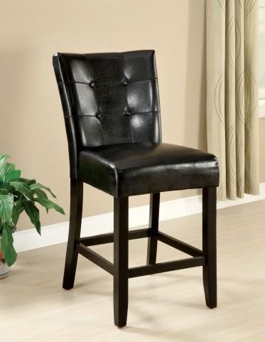 Marion II Leatherette Counter Height Chair Set of 2