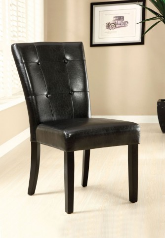 Marion I Leatherette Side Chair Set of 2