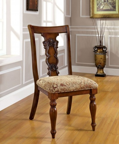 Seymour Dark Oak Side Chair Set of 2