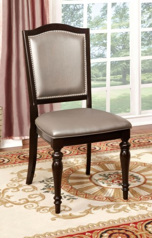 Harrington Tan Fabric Side Chair Set of 2