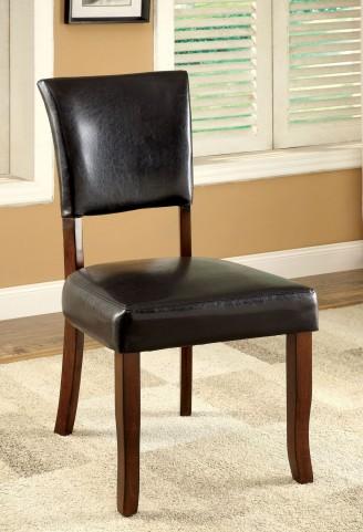Dwight I Medium Oak Leatherette Side Chair Set of 2