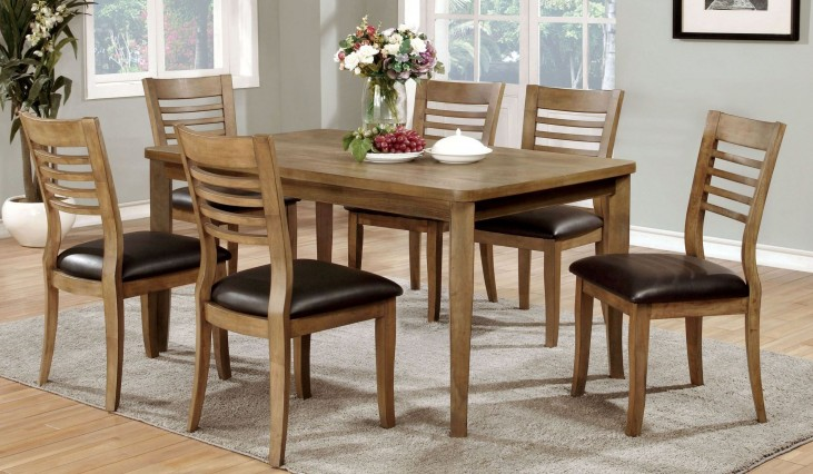 Dwight II Natural Tone Dining Room Set
