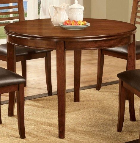 Dwight I Medium Oak Round Dining Table
