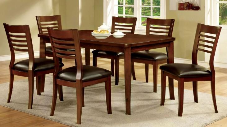 Dwight I Medium Oak Dining Room Set