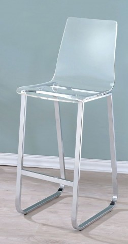 Xena Bar Clear Acrylic Chair Set Of 2
