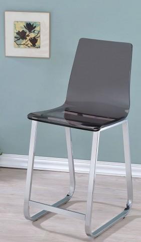 Yvetti Smoke Counter Height Chair Set Of 2