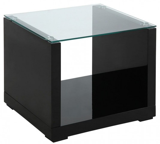 Myla Black End Table