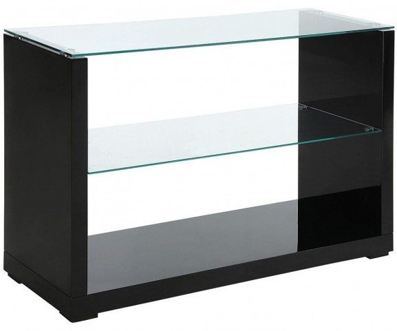 Myla Black Sofa Table