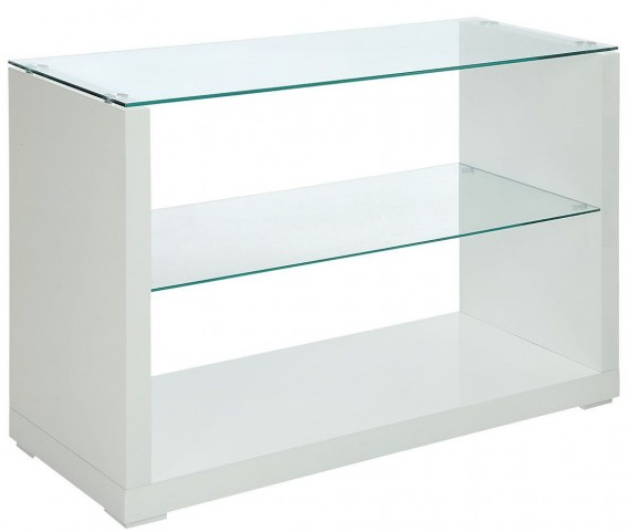Myla White Sofa Table