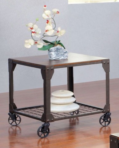 Edgeley I Metal End Table