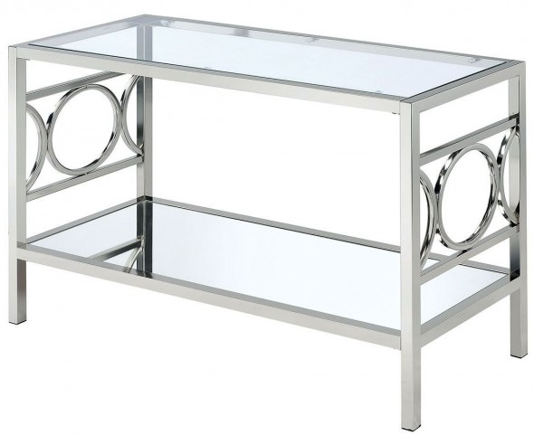 Rylee Chrome Sofa Table